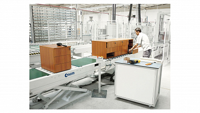 Система упаковки SCM COMPLETE ASSEMBLY AND PACKAGING LINES